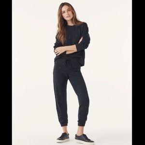 Splendid Heart Top & Sweatpants SET Size S NWT